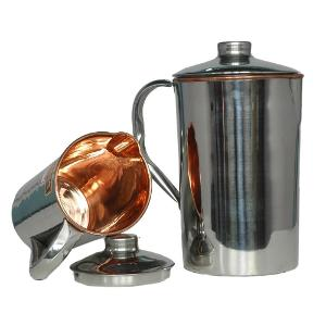 Buy Insulated Copper jug with ice catcher