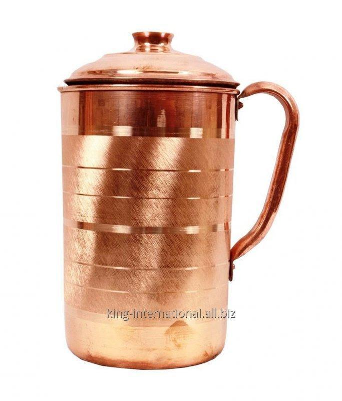 Buy Hot Sale Copper isolation insulated thermal Copper jug with ice catcher
