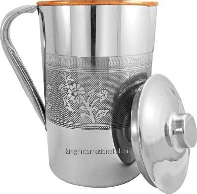 Buy European style Copper jug with ice catcher