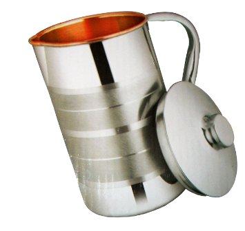 Buy Handmade Drinking Glass Copper jug