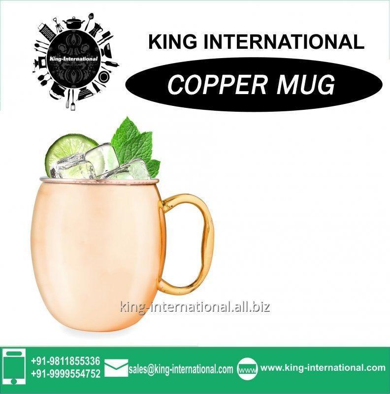 Buy Copper beer mug