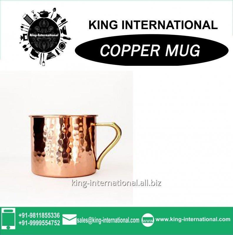 Buy Copper mug with logo
