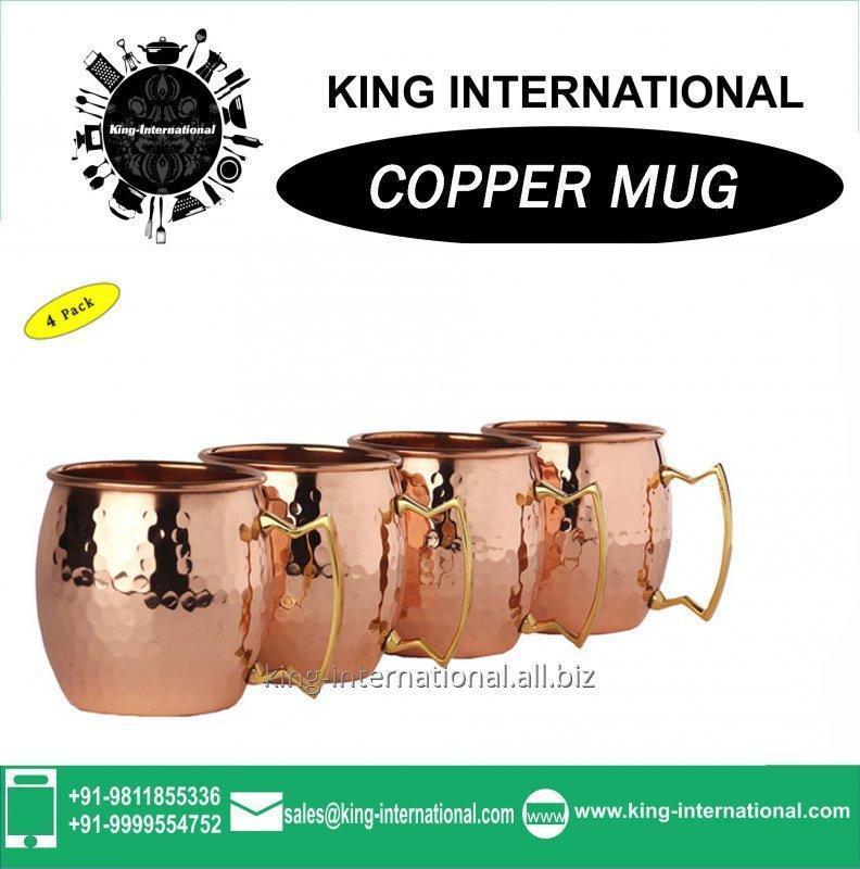 Buy Vodka copper mug