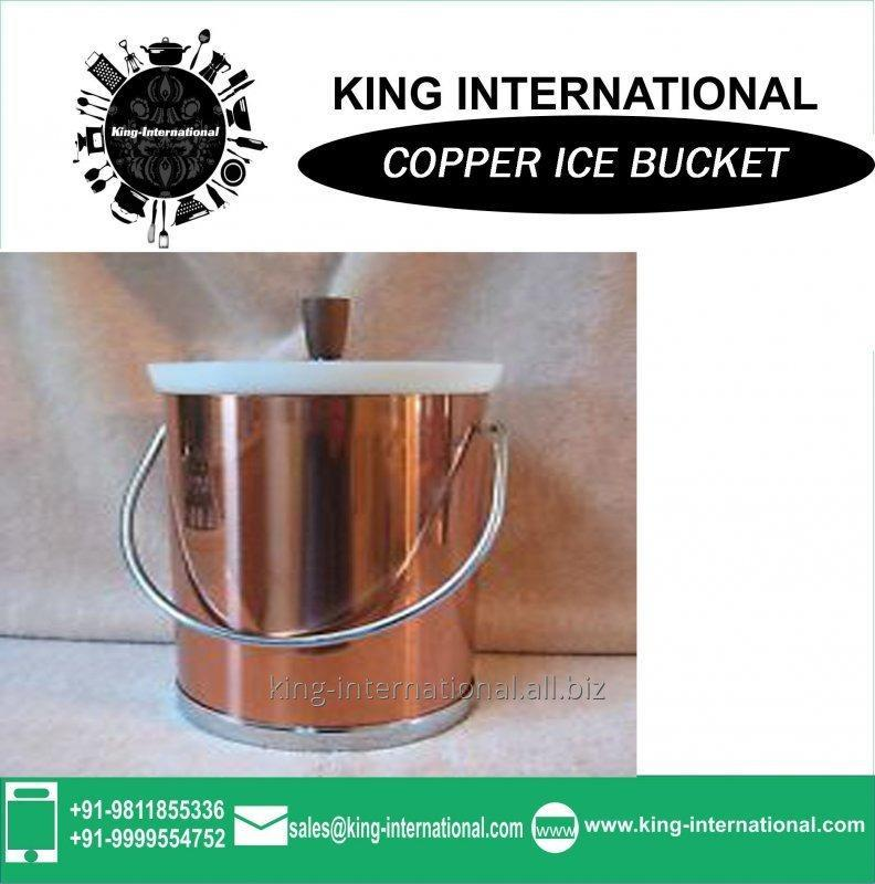 Buy 2013 high quality Copper led ice cube bucket for gift