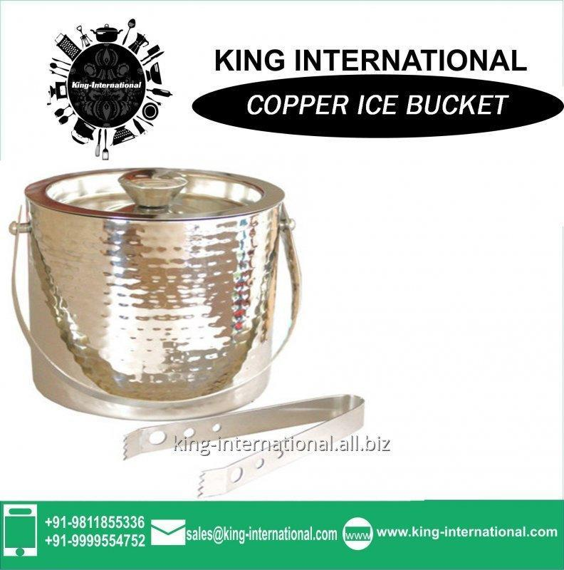 Buy Personalized large high quality Copper ice bucket