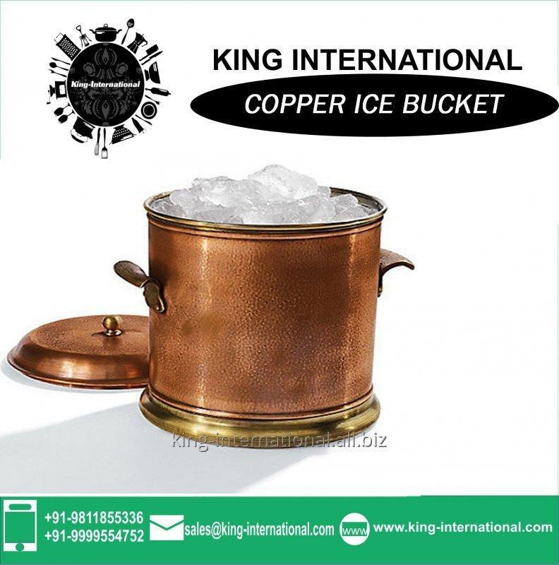 Buy 1600ml double wall one bottle hold silver ice bucket