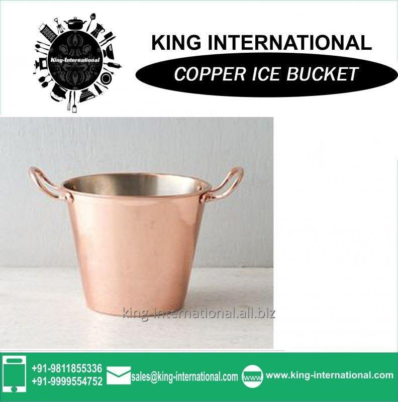 Buy 2L Metal Champagne Bucket with Handle and Mirror Finish