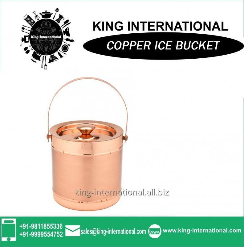 Buy Copper coil ice bucket