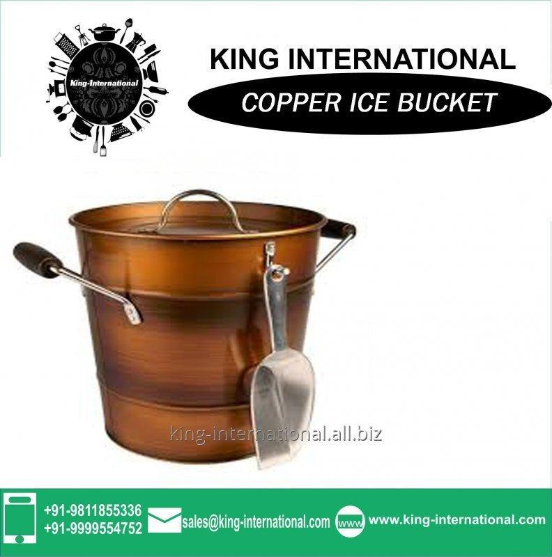 Buy Copper Ice Bucket With Ice Picker