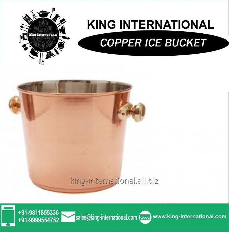 Buy Copper Ice Buckets With Lid