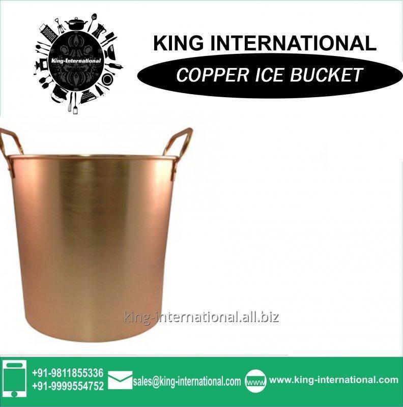 Buy Copper Double Wall Ice Bucket