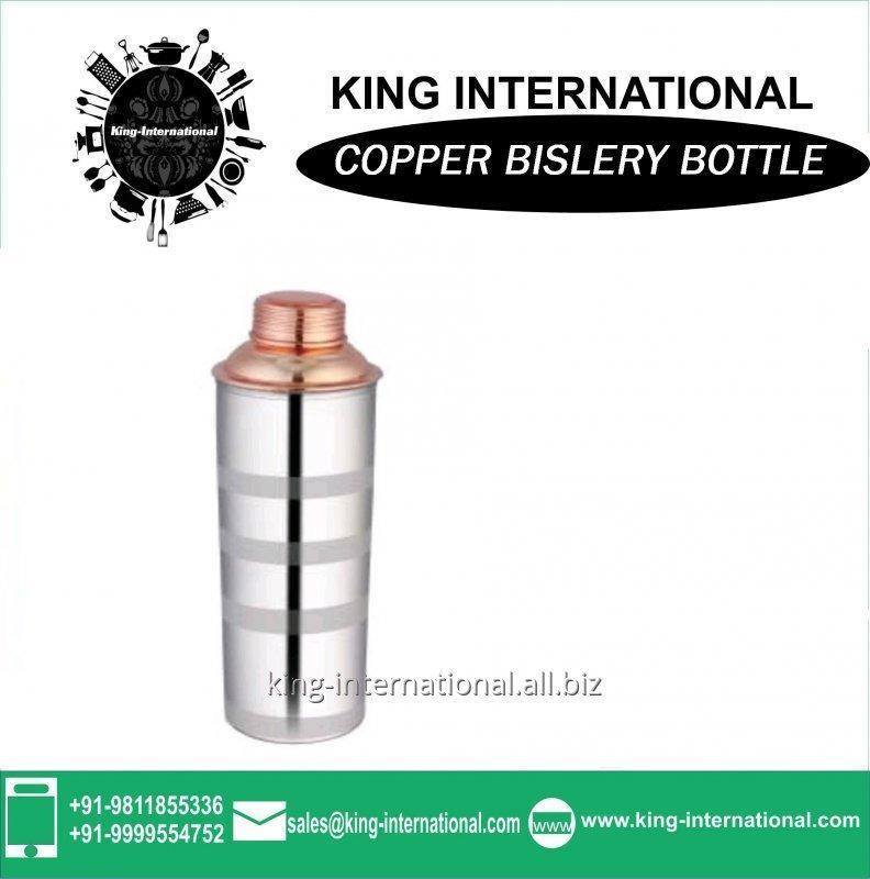 Buy High quality Copper Milk Bislery Bottle