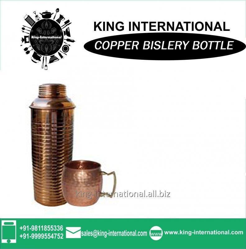 Buy Copper Water Vacuum Bislery Bottles