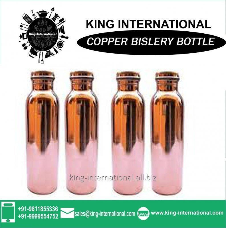 Buy Copper Hot Milk Boiling Bislery Bottle