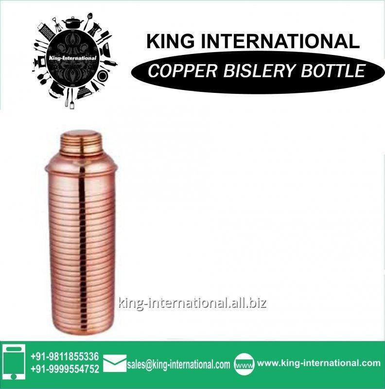 Buy Copper Measuring Bislery Bottle