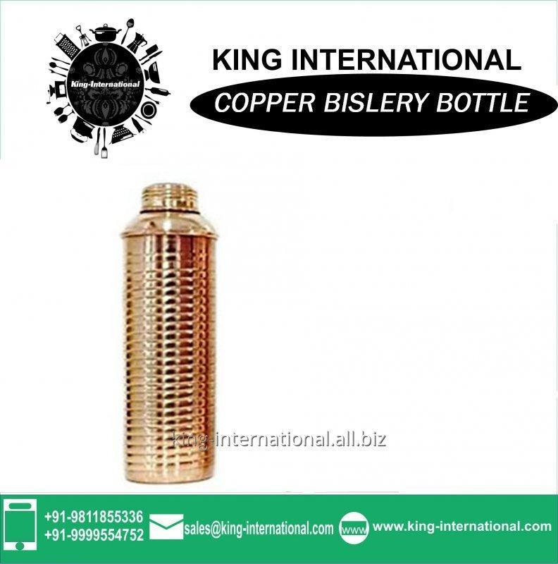 Buy 500 ml /550 ml /700 ml Solid Copper sports Bislery Bottle