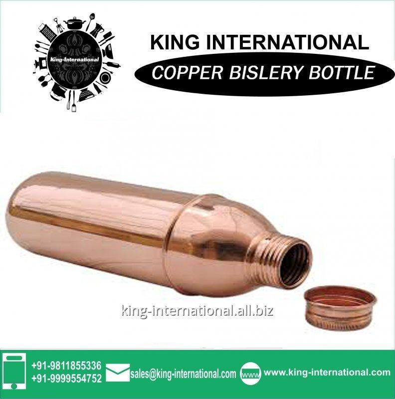 Buy Copper Measuring Bislery Bottle
