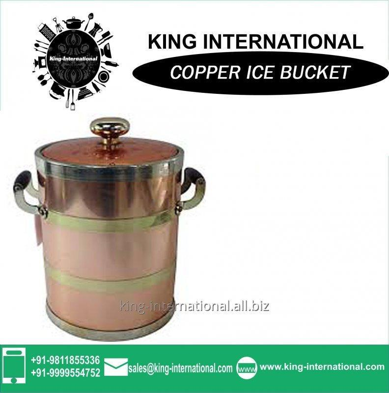 Buy Ice Bucket- Glory (Large) In Copper