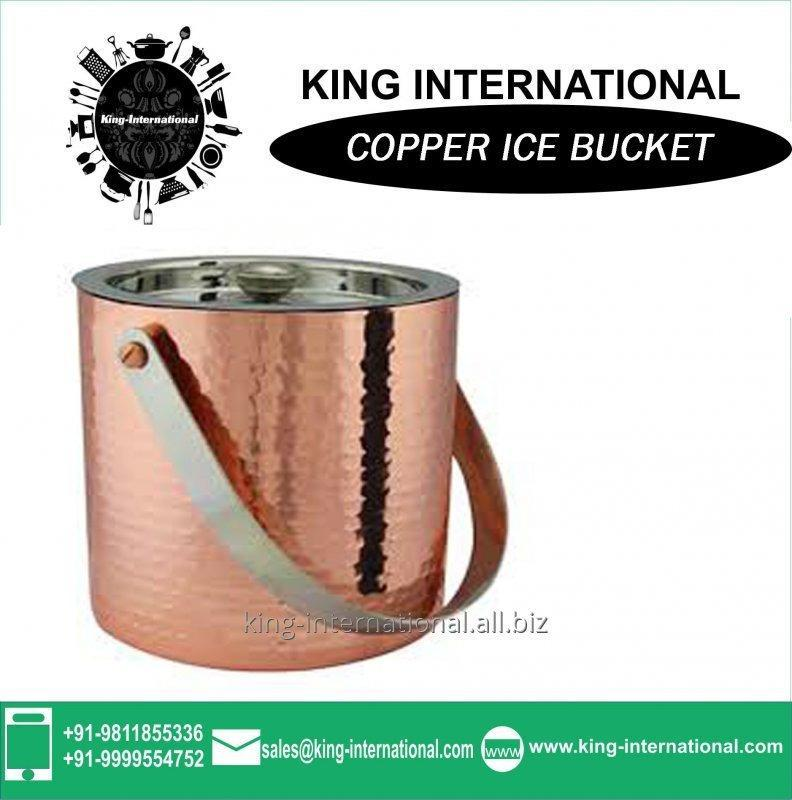 Buy Copper Small ice bucket 750ml