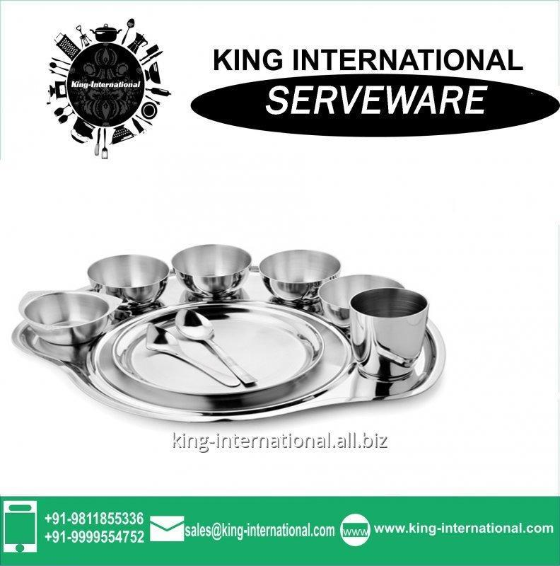 Buy Heavy weight stainless steel Serveware Serving Set