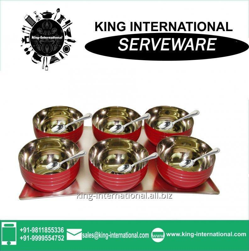 Buy Charms stainless steel Serving Set