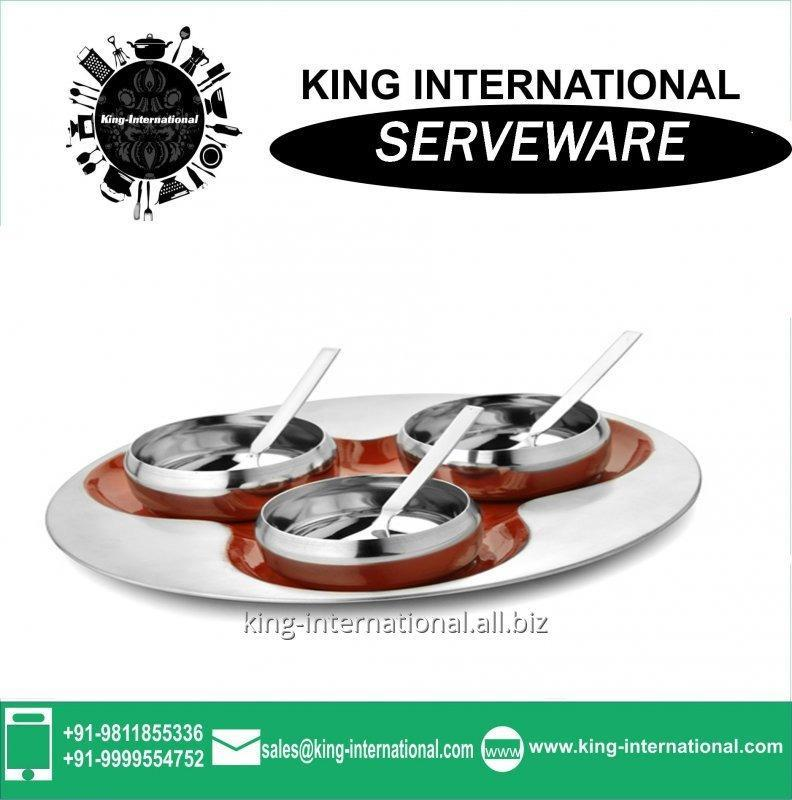 Buy Good Quality Stainless steel Serving Set