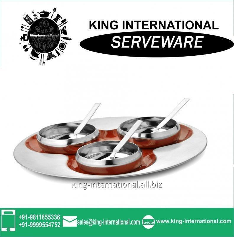 Buy Stainless Steel Serveware Serving Set