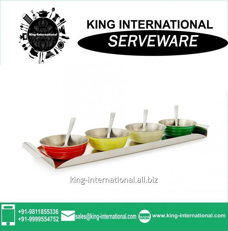 Buy Steel Serveware Tasting Serving Set