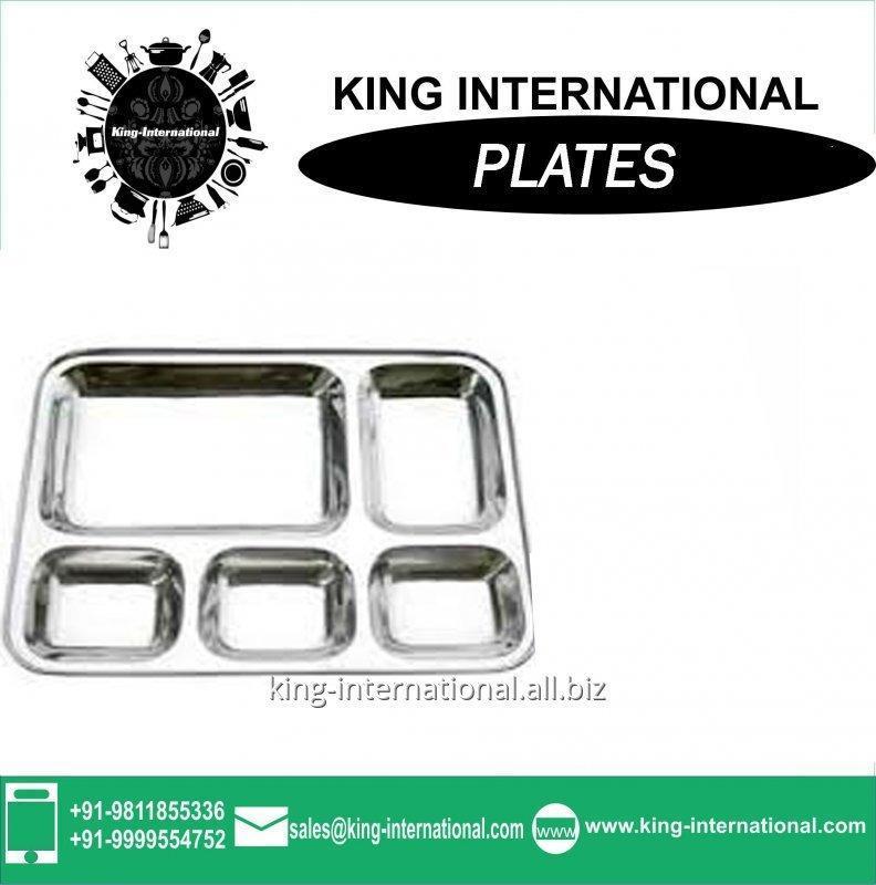 Buy Design stainless steel dinner plate