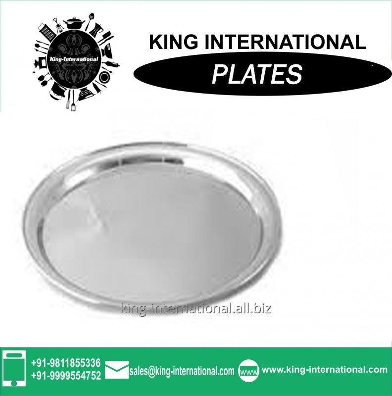 Buy 2015 Latest gift made in China stainless steel dinner plate