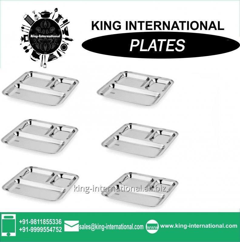 Buy Stainless steel dinner plate