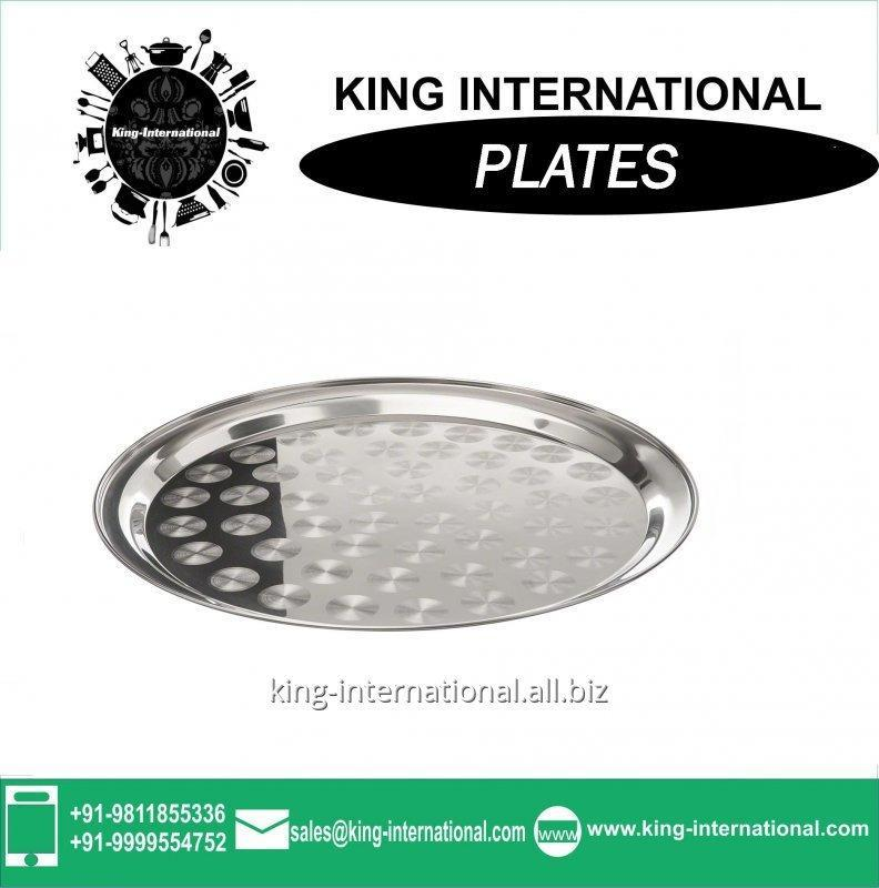 Buy Plate, steel Mess tray, decorative plate