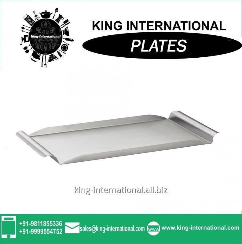 Buy Stainless steel Mess plate 20/22CM