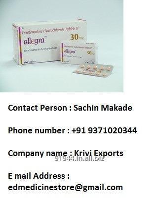 Buy Allegra Tablet 30mg