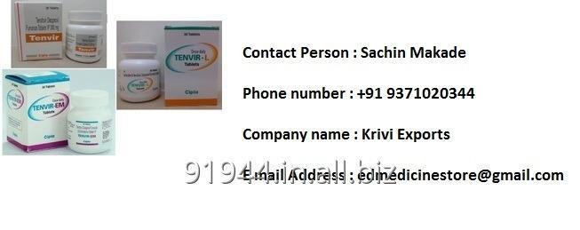 Buy Tenvir EM 500mg - HIV AIDS drugs