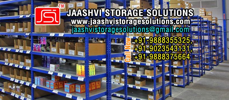 Buy Industrial storage racks trolleys slotted angle racks