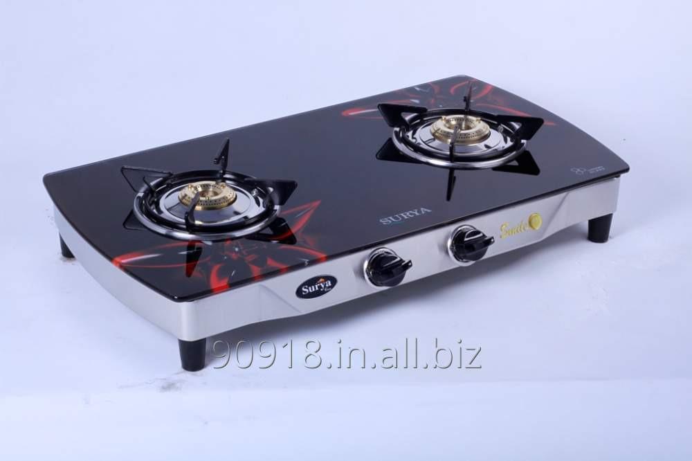 Buy 2 Burner stove Glass Top Gas Stove