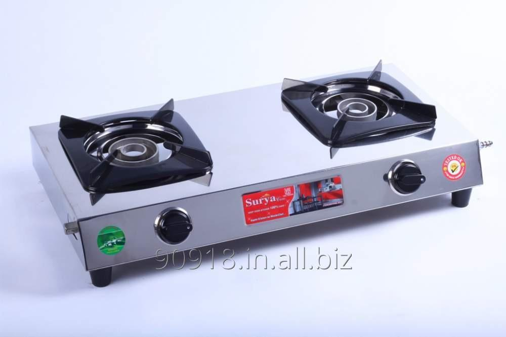 Buy 2 Burner stove Stainless Steel Gas Stove