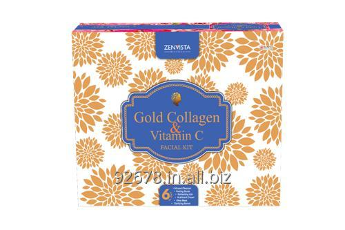 Buy Gold Collagen & Vitamin C facial Kit Zenvista Meditech