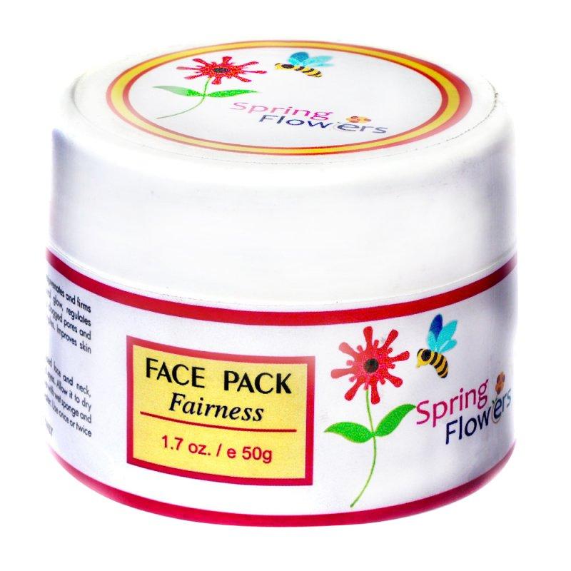 Buy Spring Flower fairness face pack Zenvista Meditech