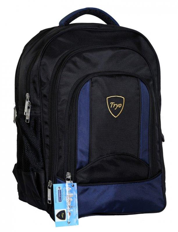 Buy Tryo Laptop Backpack HB2017 Arogyaa Blue