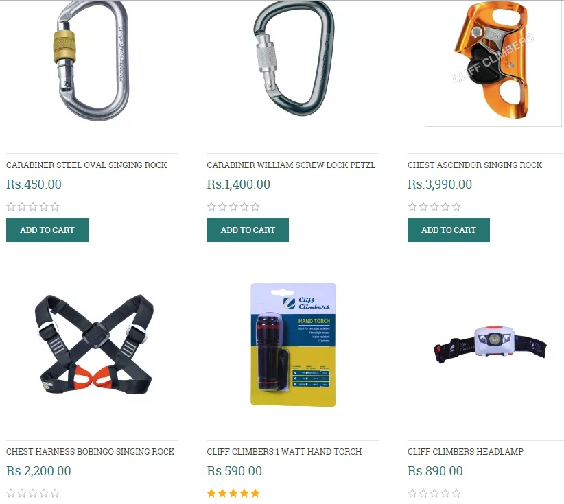 Buy All Climbing Gear