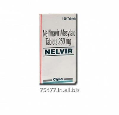 Buy Nelvir - Nelfinavir 250mg Tabs