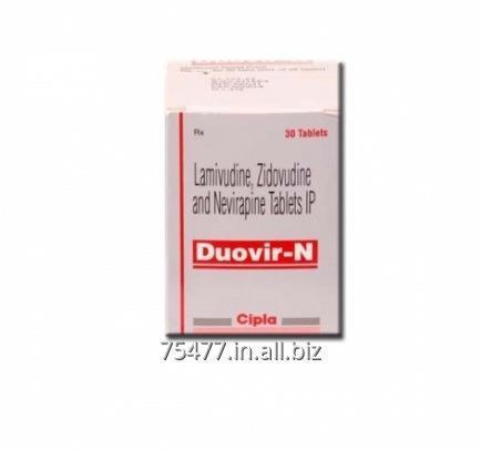 Buy Duovir-N ( Lamivudine + Zidovudine +Nevirapine)