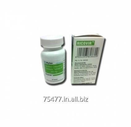 Buy Ricovir 300 mg Tenofovir Tablets Mylan