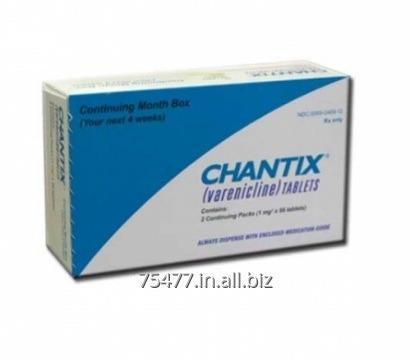 Buy Chantix - Varenicline Tablet (Starter Pack)