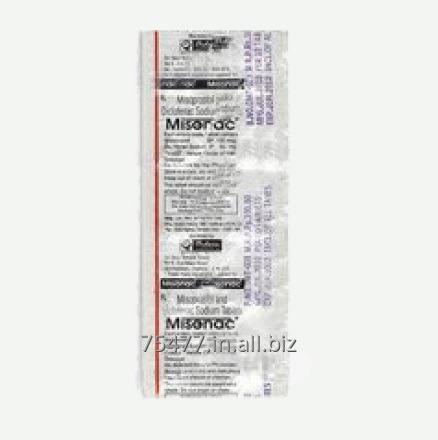 Buy Osteoporosis / Arthritis -- Misonac (Diclofenac Sodium-Misoprostol) Tablet