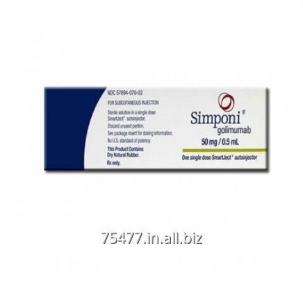 Buy Osteoporosis/Arthritis--- Simponi Golimumab 50 mg Injection