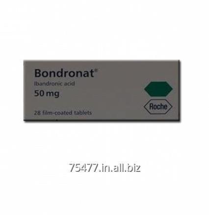 Buy Osteoporosis - Arthritis Bondronat 50mg - Ibandronic Acid Tablet