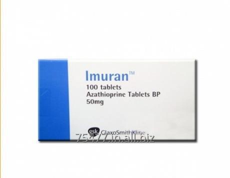 Buy Osteoporosis / Arthritis Imuran - Azathioprine 50mg Tablets